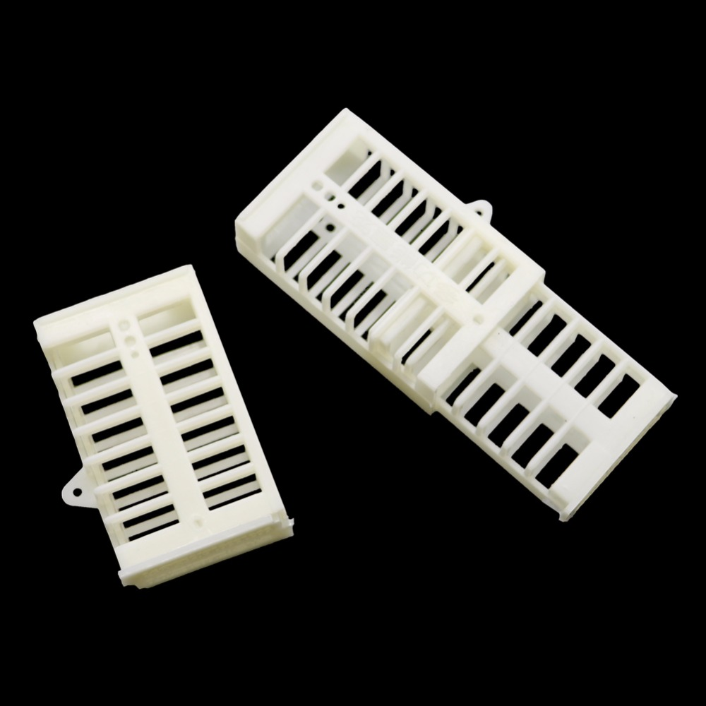 30 Pcs Plastic Bee Queen Cage White Safety Mutil-functional Stretch Hutchs Tools Beekeeping Supplies Tools