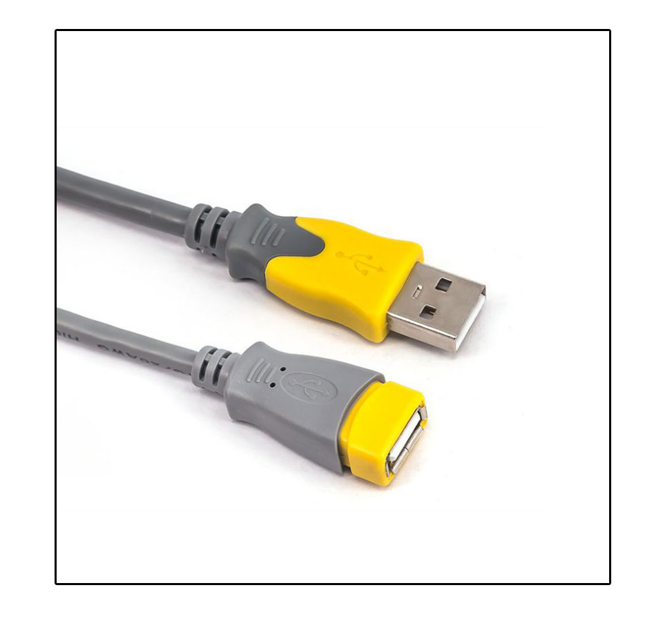 1.5m USB Data Cables Male To Female For PC Keyboard Printer Camera Tablet Mobile Phone Mouse Game Controller USB 2.0 Extender (5)