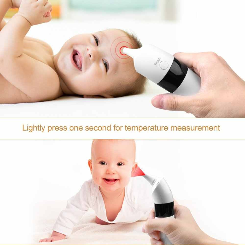 GL Medical Household LCD Digital Infrared Forehead Ear Thermometer Baby Temperature Fever Health Termometro for Children Adult