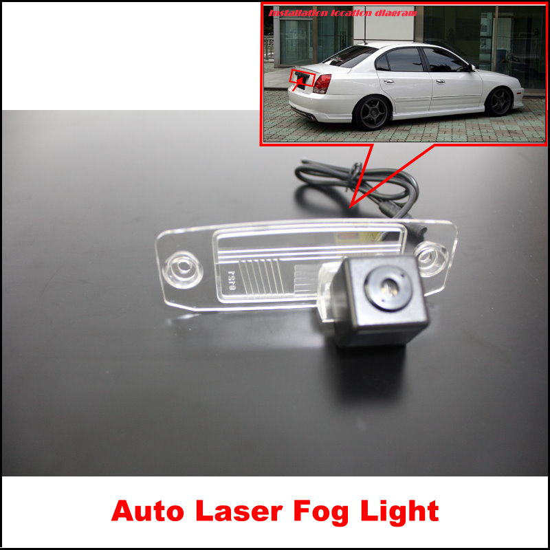 Car Laser Fog Rear Lights / For Hyundai avante Elantra XD led Styling Anti Collision Tail Lamps