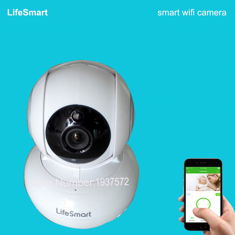 6-LifeSmart Home Security Automation Kit Wireless Remote Control WIFI HD 720P IP Camera Smart Center Station Combination System