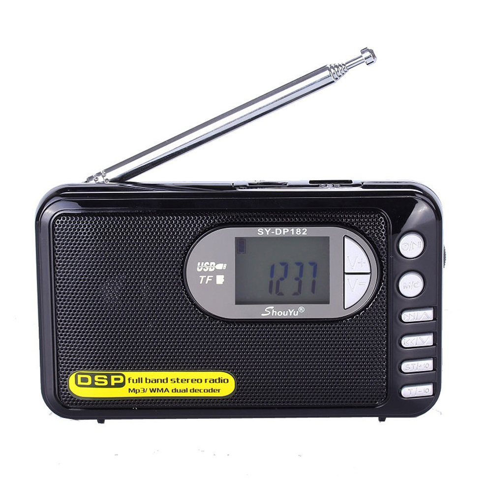 DP-182 Full Band MP3 Player New high performance DSP radio technology FM AM SW radio