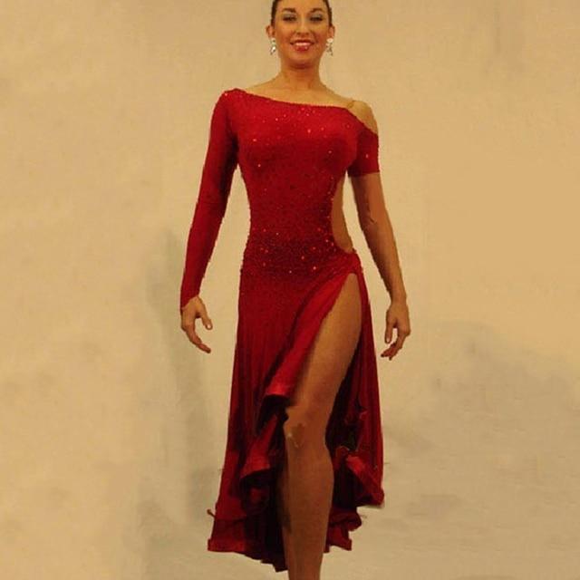Aliexpress.com : Buy 2017 Latin Dance Dress For Girls Ballroom ...