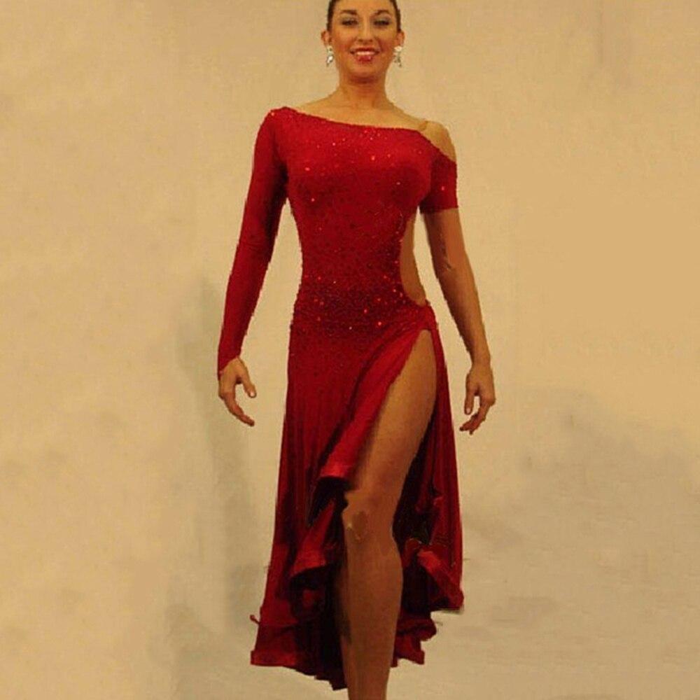Compra Trajes De Baile Latino Para Las Mujeres Online Al -9096