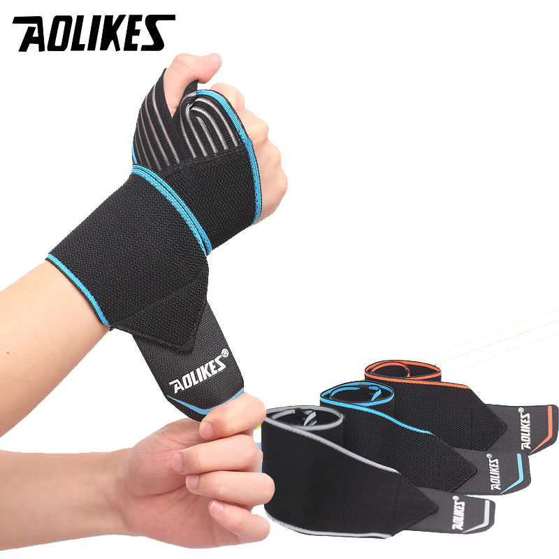 AOLIKES 1PCS Removable Adjust Wristband Wrist Brace Wrist Support Splint Fractures Carpal Tunnel Sport Hand Safety A-1540