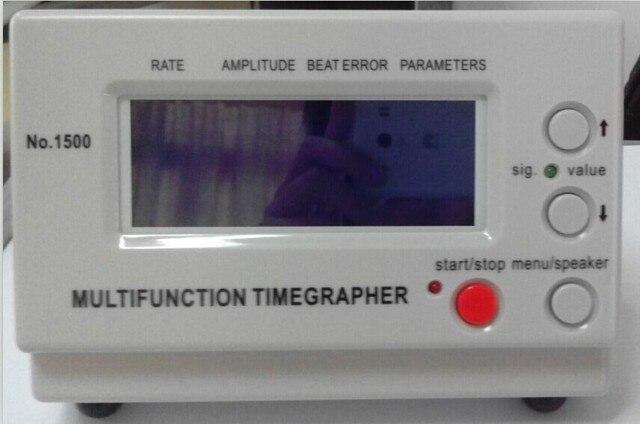 Новый 100 ~ 240 В Механические Часы Ремень Машина Многофункциональный Timegrapher номер 1500 для rolex, часовщиков (Английская Версия)