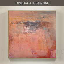 Artist Hand-painted High Quality Abstract Oil Painting on Canvas Beautiful Colors Modern for Living Room