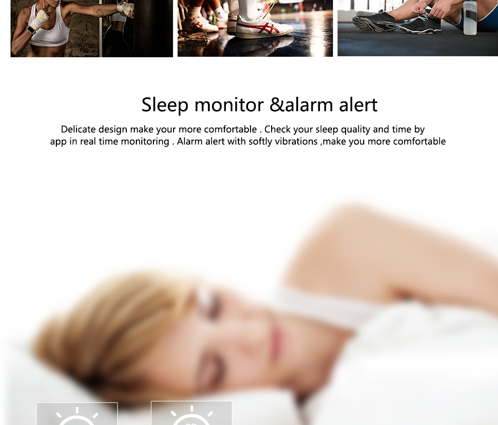 CK11S Wristband Blood Pressure Watch Blood Oxygen Heart Rate Monitor Pedometer IP67 Waterproof marigold 9