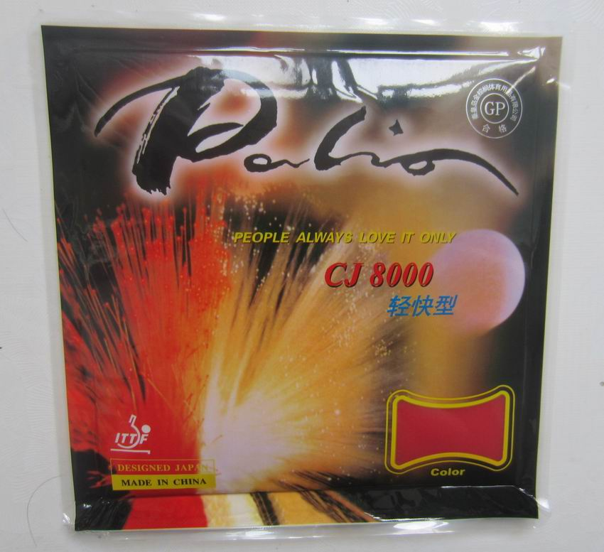 Original Palio CJ8000 Light Fast Table Tennis Rubber Pimples In Table Tennis Rackets Better Than 729 Physical