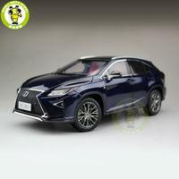 1/18 Toyota Lexus RX 200 т RX200T литья под давлением модели автомобиля внедорожник коллекция хобби подарки голубой цвет