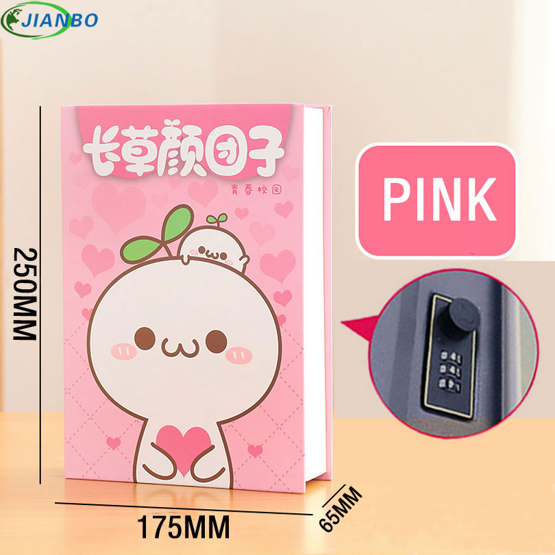 Image 2 - Dictionary Secret Book Safe Box Money Hidden Security Safe Lock Cash Money Coin Storage Jewellery Password Locker For Kid Gift-in Safes from Security & Protection