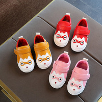 Autumn Baby Girls Boys Toddler Shoes Cartoon Soft Bottom Infant/Newborn First Walkers Shoes Children Kids Casual Shoes