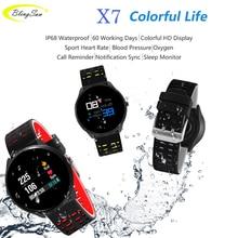 X7 Smart Watch Waterproof Men Sports Smartwatch Bluetooth Heart Rate Monitor Call Reminder Pedometer Activity Fitness Tracker