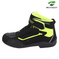 New Motoboy Motorcycle High Ankle Racing Soft Non slip Protective Bikes Race Motocross Motorbike Speed Motocross boots Shoes