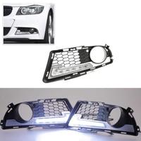 Brand New Led Daytime Running Lights For BMW E90 E91 3 Series 2009 2012 M Tech