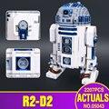 Лепин 05043 Подлинная Звезда Война Серии R2-D2 Робот Набор из печати Строительные Блоки Кирпичи Игрушки 10225