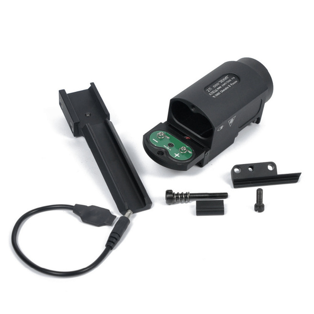 AK-SD Tactical LED Flashlight With Remote Switch Rail Mount Airsoft Arma Weapon Light Hunting Rifle Pistol Gun Light