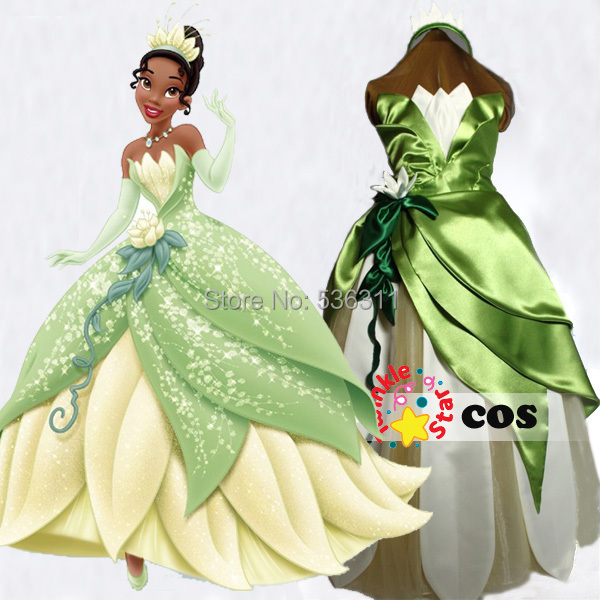 Princess Tiana Dress: Aliexpress.com : Buy Halloween Costumes For Kids The
