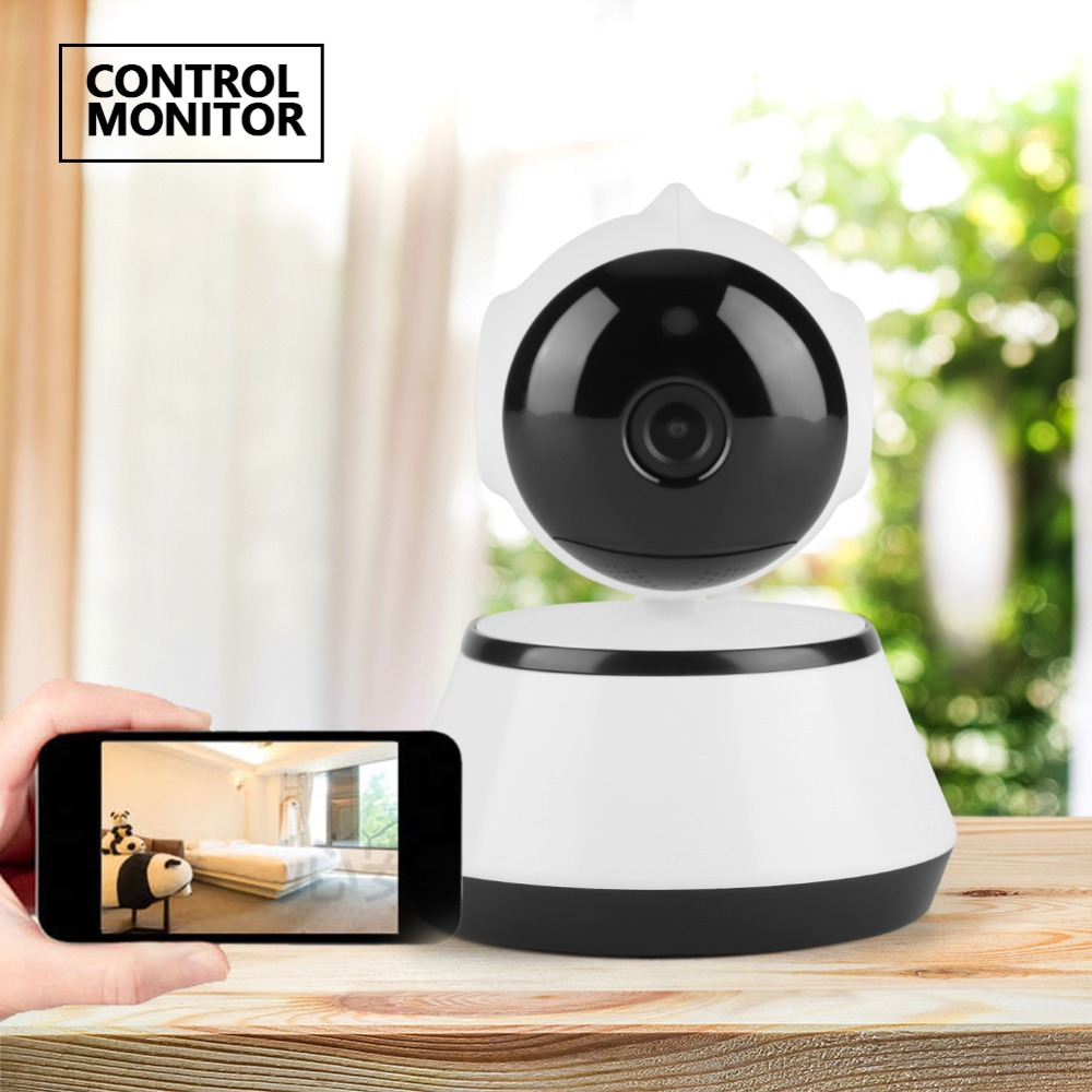 2w Smart Camera Wifi Wireless Babys Monitor Intelligent Alerts Night Vision Nanny Ip Cameras Support Ios Baby Pedaling Reminer Safety Equipment