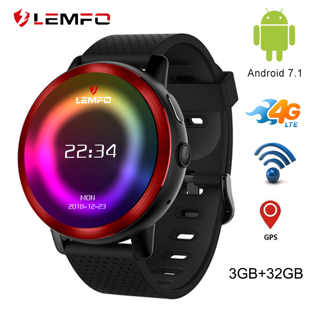 LEMFO LEM8 Pro Smart Watch Android 5 1 Watch Phone 1 39 inch Support 4G WIFI