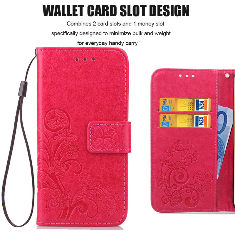 3D Leather Flip Case For Xiaomi Redmi Wallet Case 1