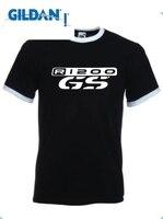 GILDAN T Shirt Moto R 1200 R1200 Gs T Shirt Ringer White Black Blue S M