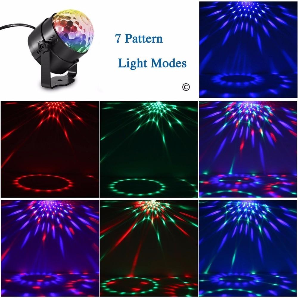 aliexpress com buy aimbinet 7 color sound control led crystal
