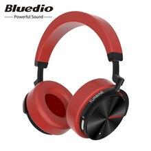 Original Bluedio T5 Wireless Bluetooth Headphone Active Noise Cancelling Portable Bass HiFi Stereo Sport Music Headset With Mic цена в Москве и Питере