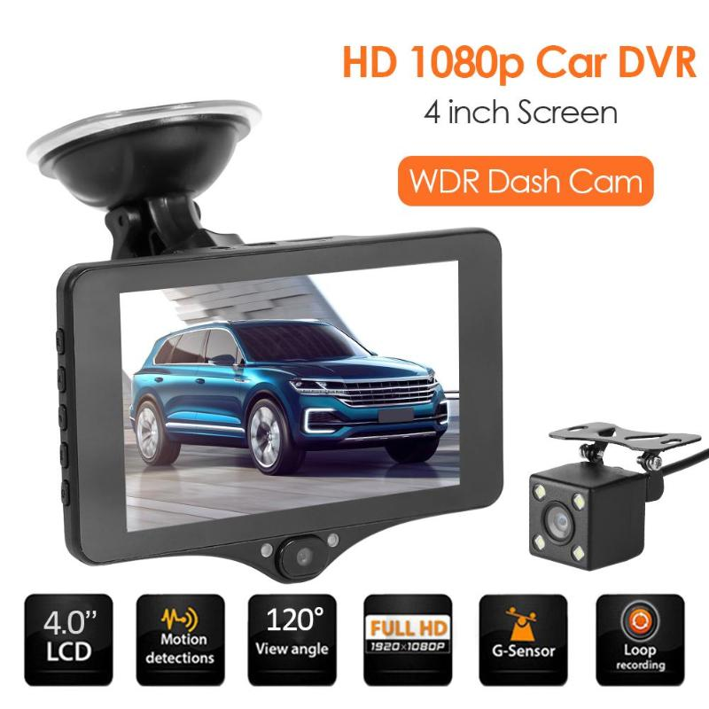 Video-Recorder Dvr Camera Driving Dash-Cam Wide-Angle 4inch WDR Support Car 1080P 32G