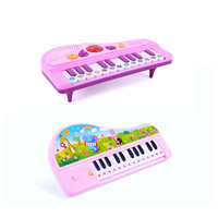Children's keyboard toy cartoon mini musical instrument music puzzle electric