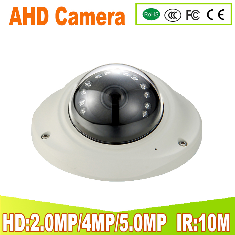 Surveillance Cameras Video Surveillance 1mp 2mp 4mp 5mp Best Price Ahd Cameras 12pcs Night Vision Leds Vandalproof Housing Mini Dome Cameras 4 In 1 Security Cameras