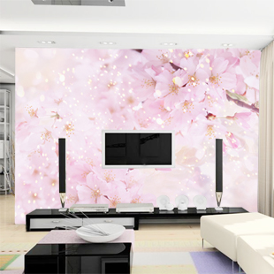 Large mural living room bedroom sofa TV background 3D wallpaper 3D wallpaper wall painting romantic cherry 3d photo wallpaper 3d large mural tv sofa background wall bedroom living room photography wood nature landscape wallpaper mural