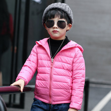 Thin paragraph 2016 autumn and winter baby clothing, boys and girls down cotton clothes, kids warm jacket for 2-12T