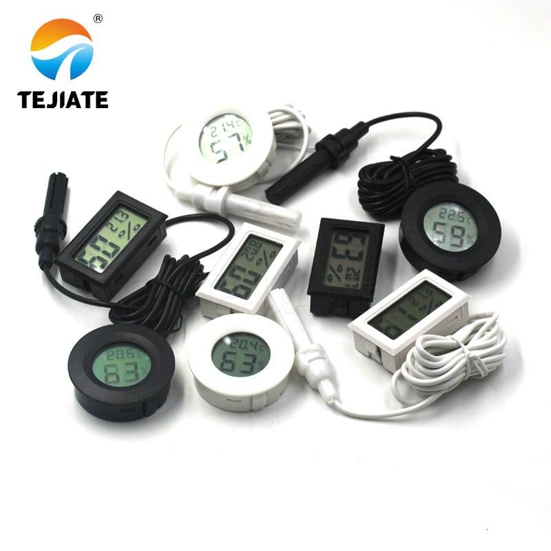 Мини ЖК-цифровой термометр гигрометр Температура в помещении удобный датчик температуры измеритель влажности измерительный прибор кабель