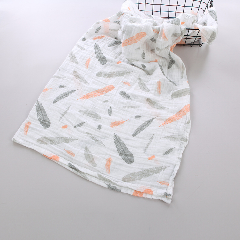 Karitree Muslin Cotton Baby Swaddles For Newborn Baby Blankets Black & White Gauze Bath Towel