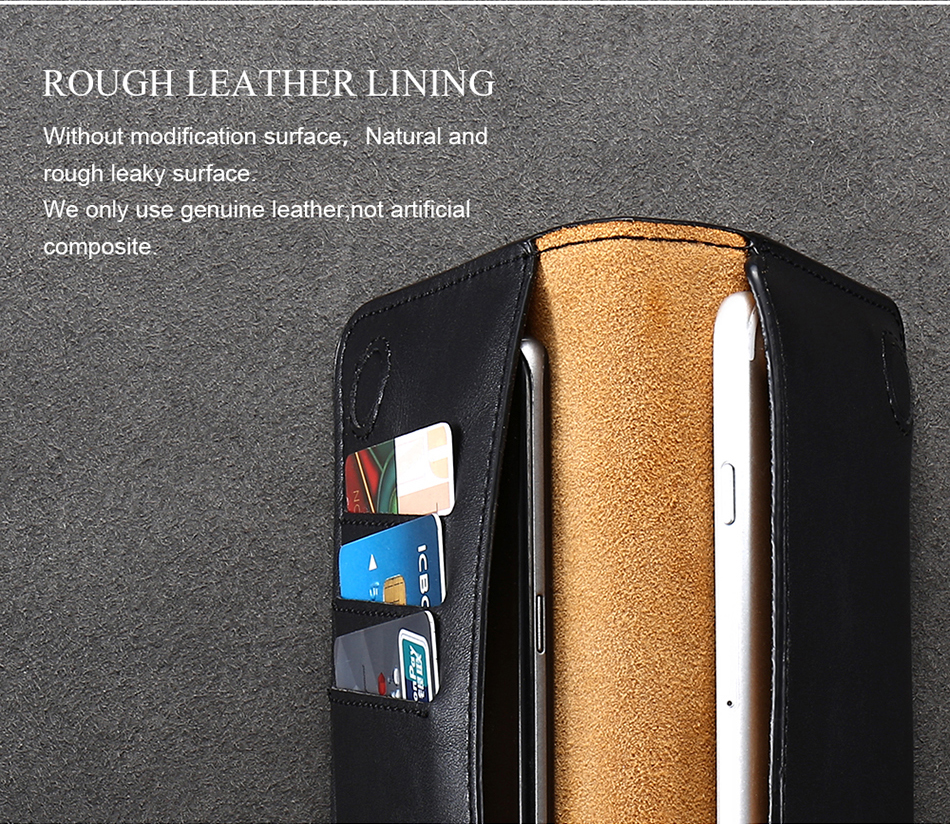FLOVEME Genuine Leather Wallet Case For iPhone 6 6S 7 Plus Cover Multi-function Vintage Luxury Phone Pouch For Samsung S6 S7 (8)