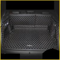 lsrtw2017 fiber leather car trunk mat for peugeot 3008 2016 2017 2018 2019 2nd generation
