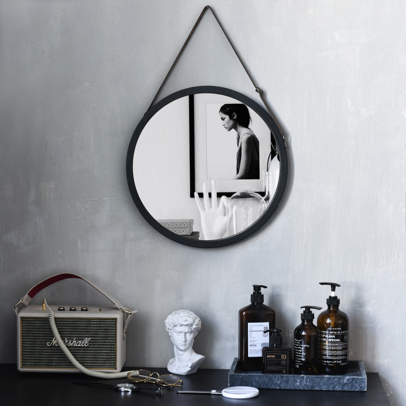 Nordic Cosmetic Mirror Wall mounted Bathroom Bathroom ...