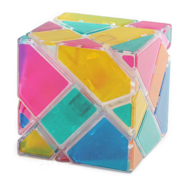 Z-Cube 3x3x3 Transparent Ghost Cube Speed Magic Cubes Puzzle Educational Toys For Kids Children