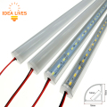 Wall Corner LED Bar Light DC 12V 50cm High Brightness 5730 Rigid LED Strip 2pcs/lot.