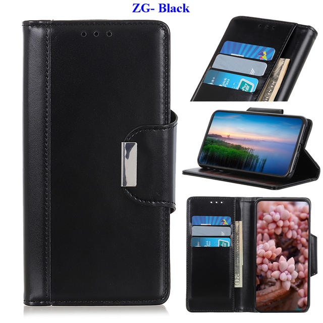 Business Magnetic Leather Wallet Case for iPhone 11/11 Pro/11 Pro Max 14
