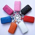 2017 high quality men PU leather alligator car key wallet for women black white female zipper car key cases for ladies YI034
