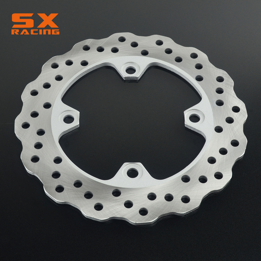 Motorcycle Stainless Steel Rear <font><b>Brake</b></font> <font><b>Disc</b></font> Rotor For <font><b>KAWASAKI</b></font> ZX6R ZX6RR ER-6F ER-6N <font><b>Z750</b></font> ZX9R Z1000 ZX-10R KLE650 image