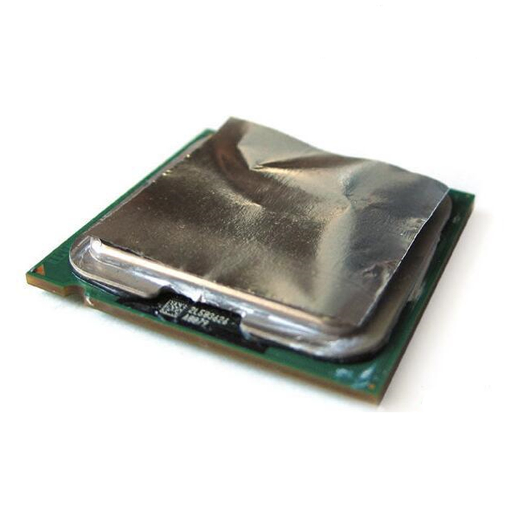 Laptop Computer CPU GPU Dissipate heat liquid metal conductive heatsink thin slices sheet plate