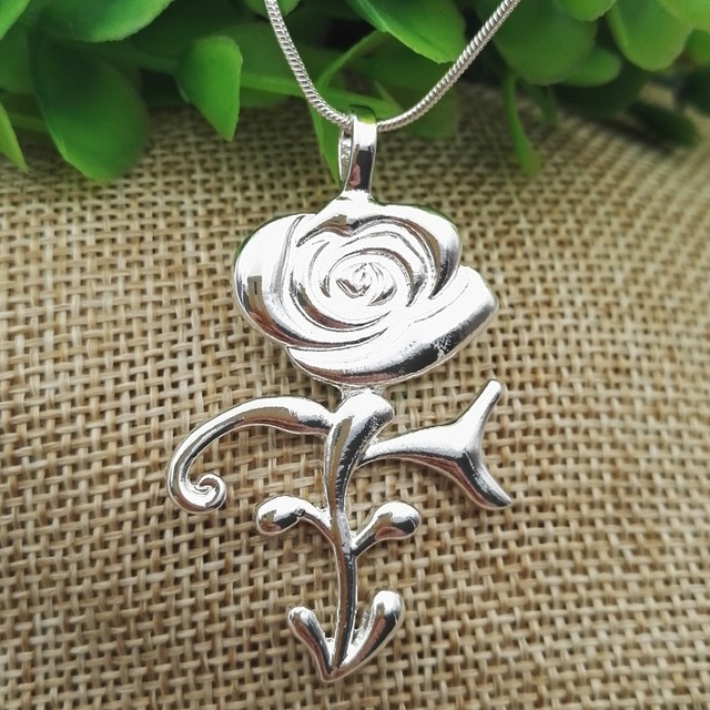 Ultra Rare Prince Rose Symbol Necklace Great Gift For Any Prince Fan
