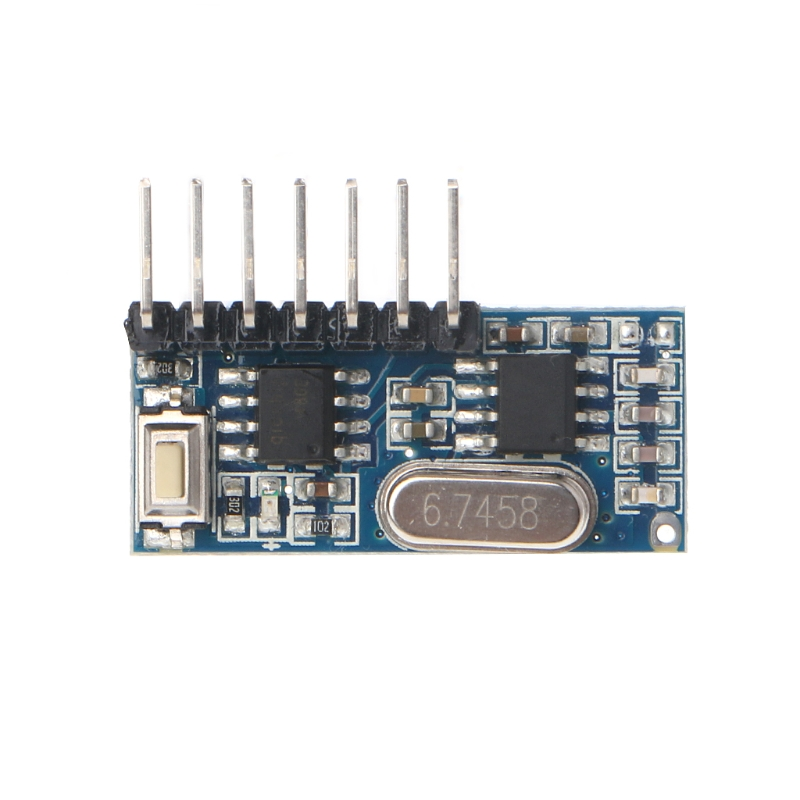 433MHz RF Receiver Learning 1527 Code Decoder Module 433 MHz Wireless 4 Channel Output For Remote Control
