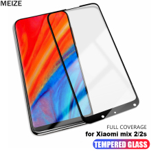 MEIZE For Xiaomi Mi A1 MI MIX 2 2S Tempered Glass Xiaomi mi A1 mix2 mix 2s Screen Protector xiaomi mi A1 mix 2 s protective film смартфон xiaomi mi mix 2s белый 5 99