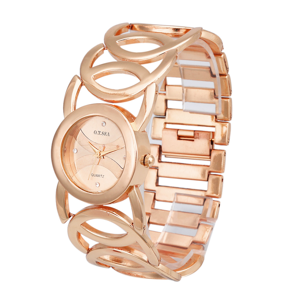 Hot Fashion Brand Bracelet Watches Women Ladies Casual Quartz Watch Wrist Watch Dress Wristwatch Clock Female 1201610136