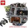 LEPIN 05063 4016pcs 05026 Star Set Wars Force Waken UCS Death Star Model Educational Building Blocks