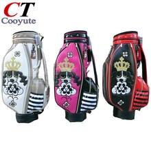 Cooyute новых женщин сумка для гольфа высокое качество PU Гольф-клубы мешок на выбор 8.5 дюймов М. у Гольф-кары мешок Бесплатная доставка